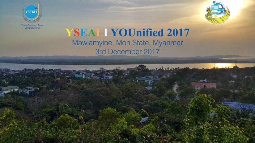 """ေမာ္လၿမိဳင္က လူငယ္ေတြ အတြက္""""YSEALI YOUnified 2017″က်င္းပမည္"""