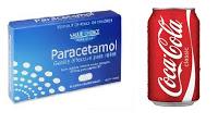 Paracetamol with Pepsi (ပါရာစီတေမာ) နဲ႔ (ပက္စီ)