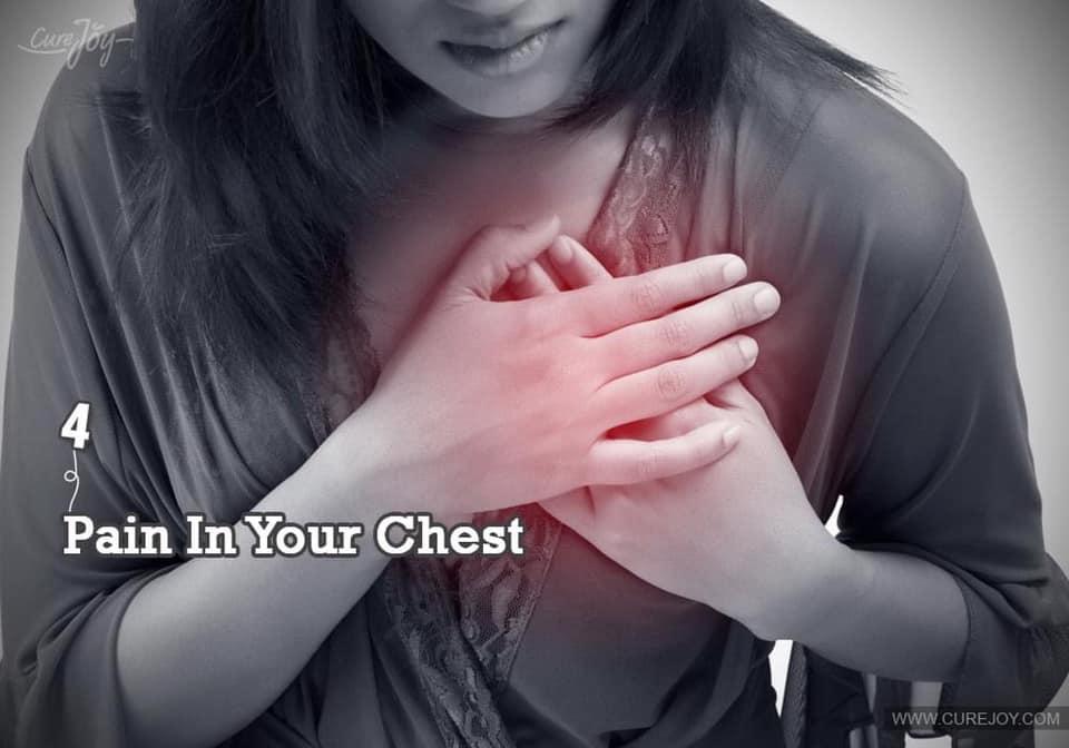 Signs Of Heart Disease နှလုံးရောဂါလို့ထင်စရာ ခြောက်ချက်